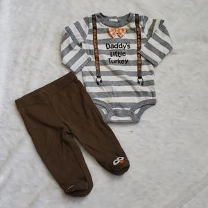 Thanksgiving 0-3 months Outfit
